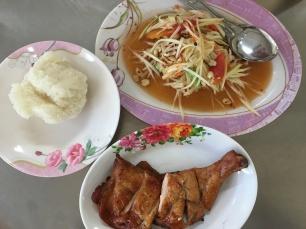 plats epices thailandais - sum tam et tom yum (3)