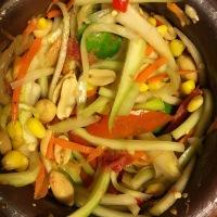 Ma recette de Papaya salad / Som tum