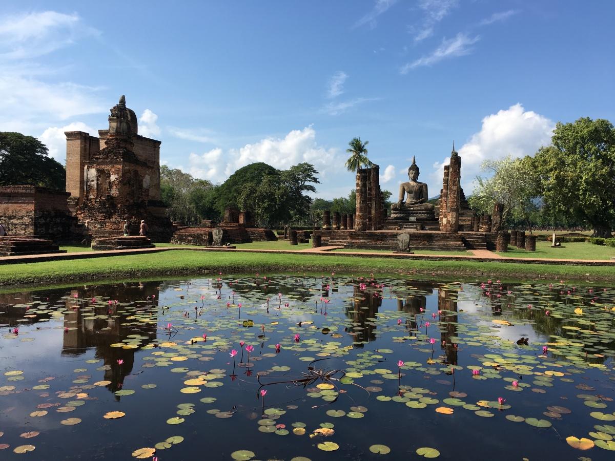 Thaïlande - Sukhotai et ses temples