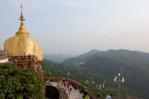 Golden rock myanmar 3