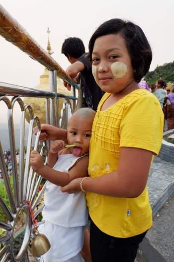 Golden rock myanmar 7