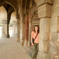 Avoir du style pour visiter un temple