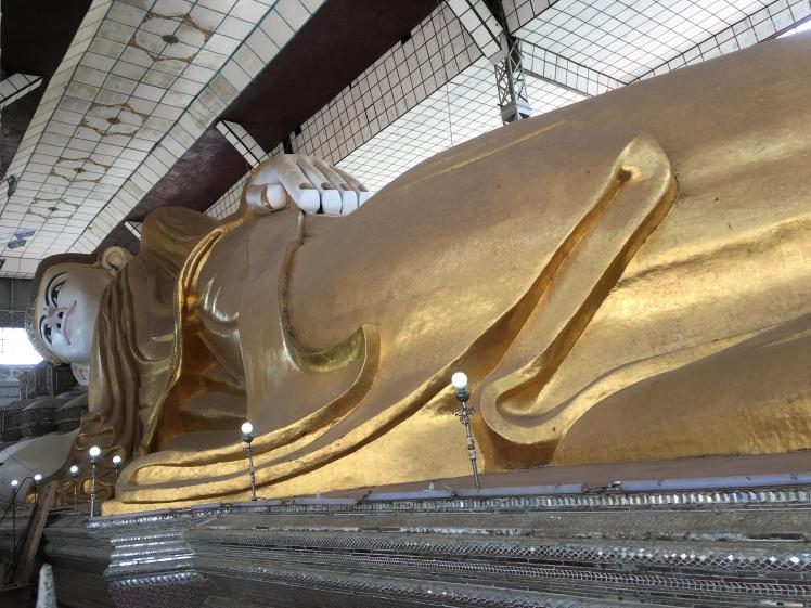old reclining bouddha - bago