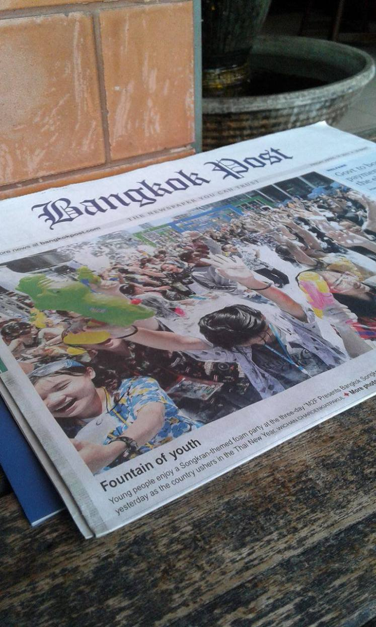 songkran newspaper bangkok