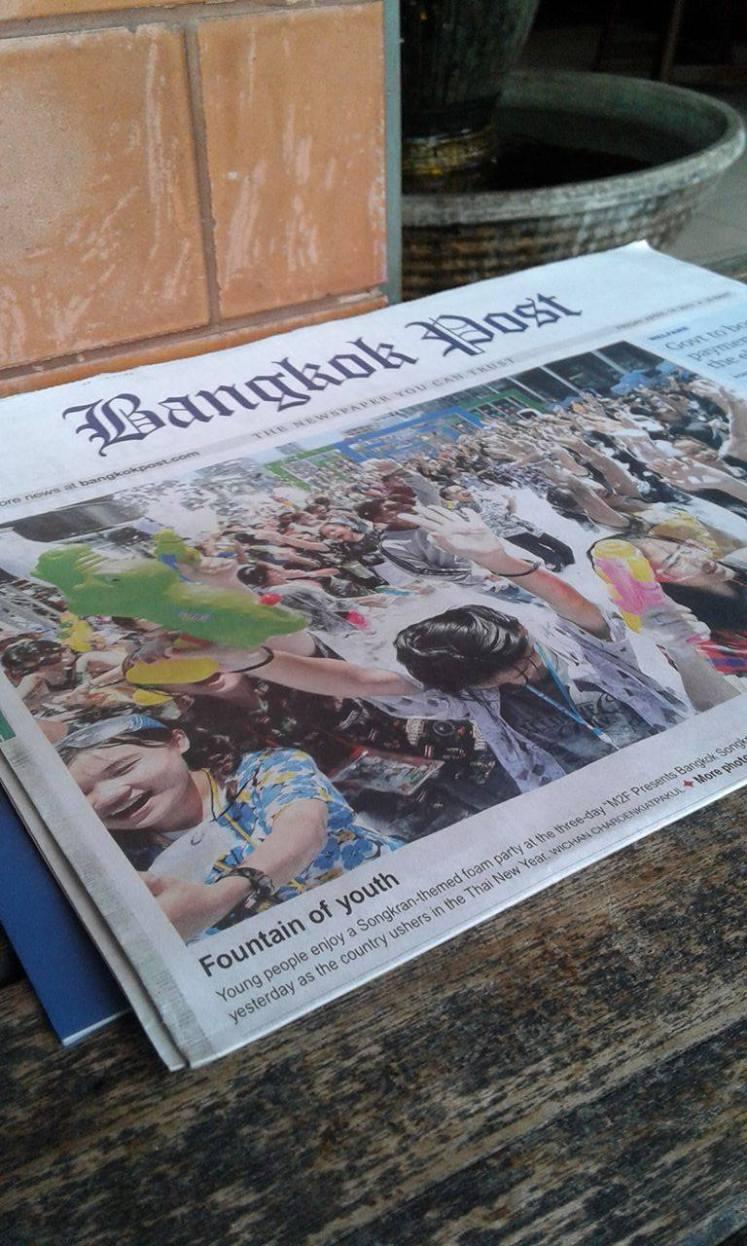 songkran newspaper bangkok