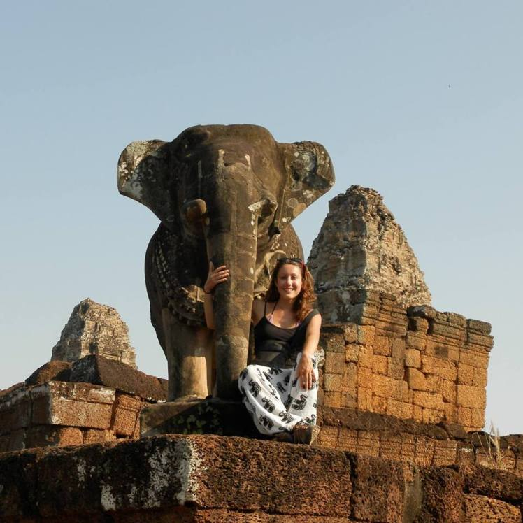 temples angkor siem reap elephants cambodge