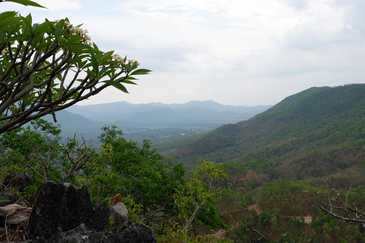 Thailande - à l'Est de Chiang Mai: Hot Spring et Muang On cave