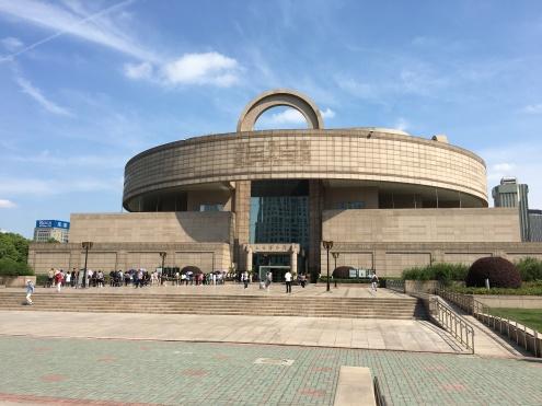 shanghai - peoples park - shanghai museum
