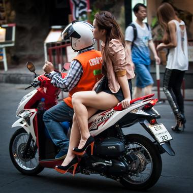 scooter-taxi bangkok