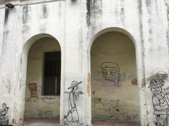 penang - georgetown - ideogrammes relief 3D (2)