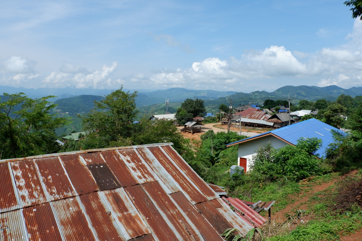 Thaïlande - au nord de Chiang Rai: Mae Salong et ses villages ethniques