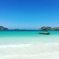 Lombok - Kuta beach