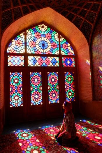 shiraz - pink mosque - nasir-al-molk (1)