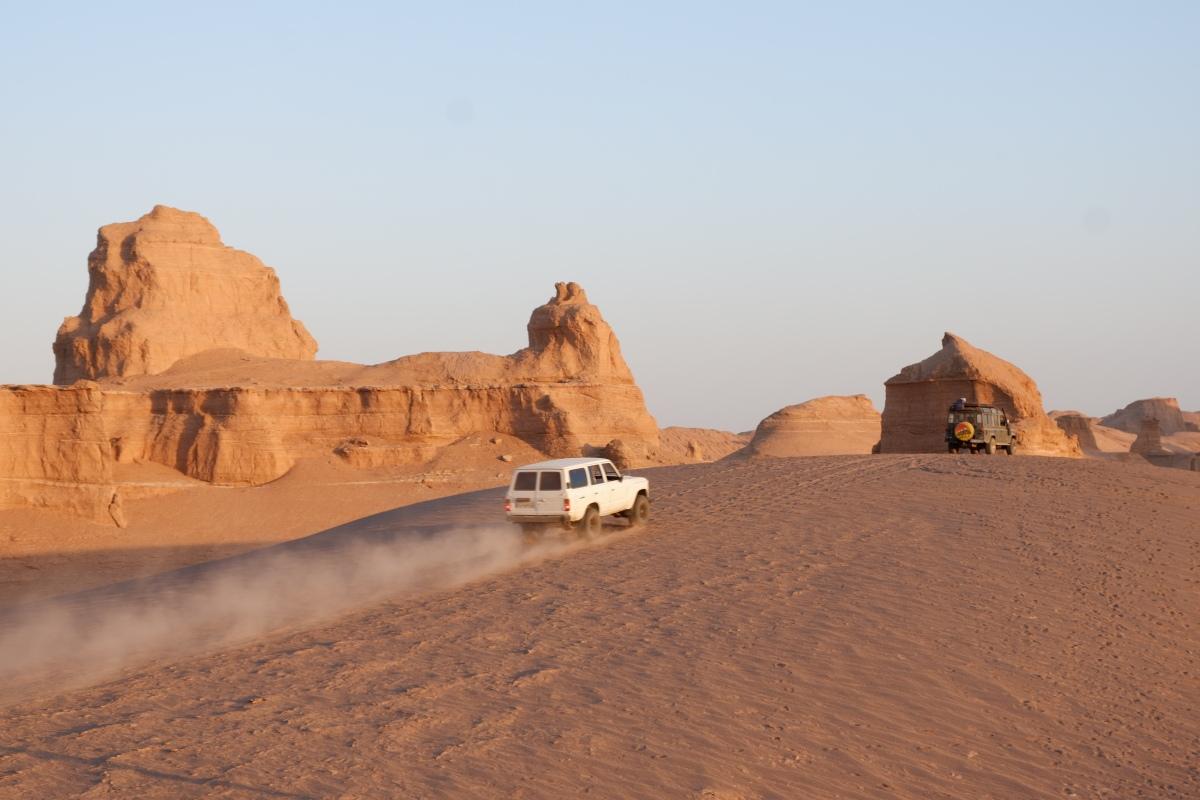 Iran - les Kaluts du desert Dasht-e-Lut