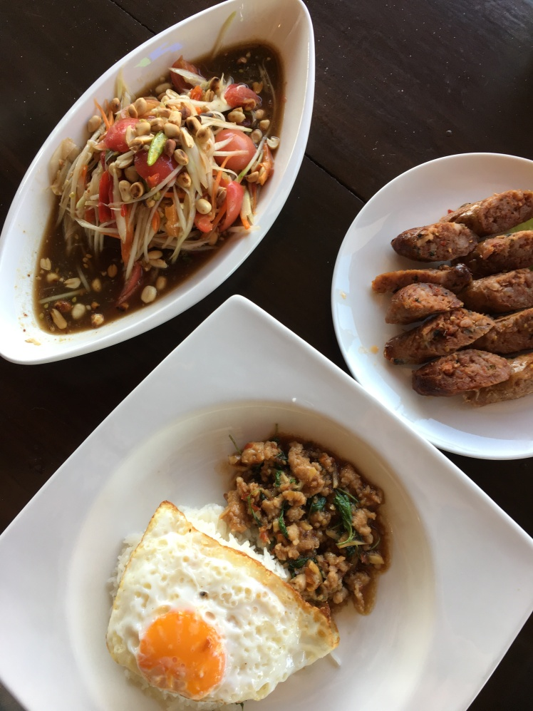 plat epice de de l'isan - nord thailande