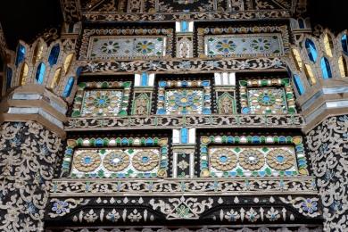 thailande - chiang mai - wat chedi luang - temple du grand stuppa - lectourebangkok (2)