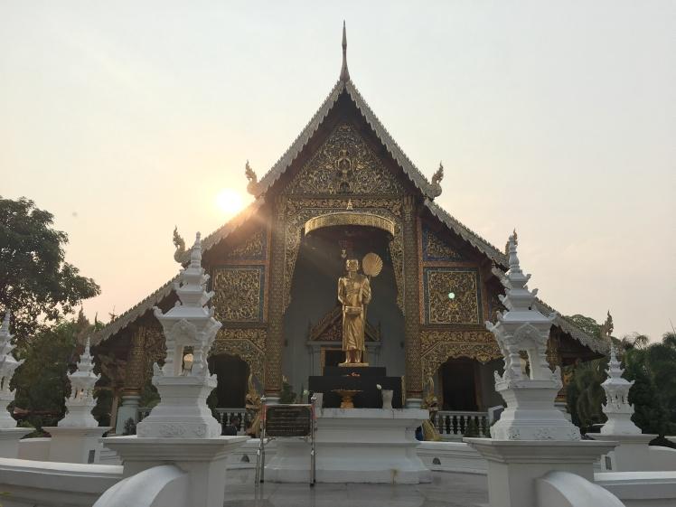 thailande - chiang mai - wat phra singh - lectoure bangkok