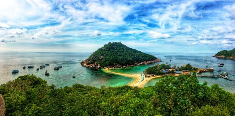 thailande - koh tao - nang yuan viewpoint - lectourebangkok 2