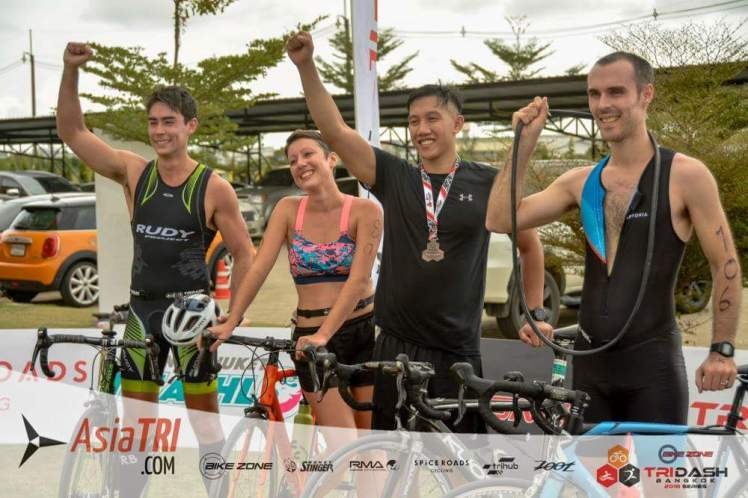 bangkok - course triathlon tridash